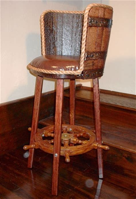 Whiskey Barrel Bar Stools by Pin By Teem On Furniture