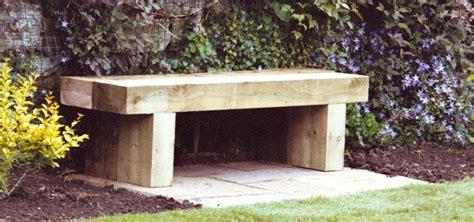 railway sleeper garden bench where to begin with a new garden mark mcnee