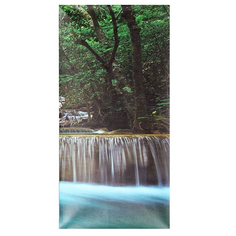 home decor waterfalls 30x60cm 5pcs canvas painting forest waterfall wall art
