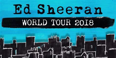 ed sheeran upcoming concerts ed sheeran announces belfast show on 2018 world tour the