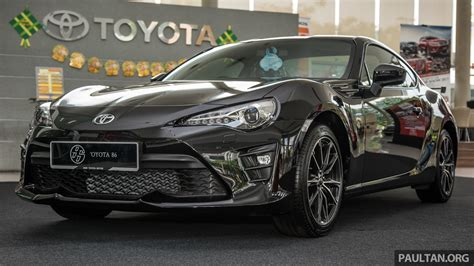 toyota now toyota 86 facelift now in malaysia rm258k to rm264k