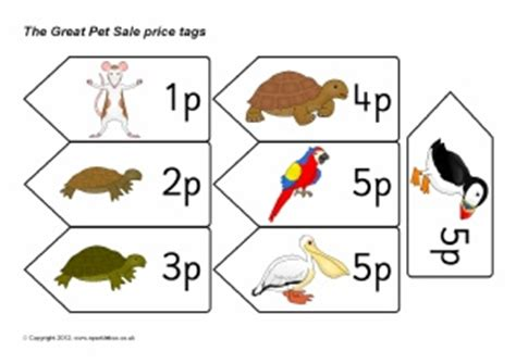 printable price tags uk the great pet sale teaching resources story sack