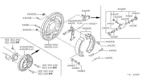 1990 nissan d21 rear ke diagram nissan auto parts