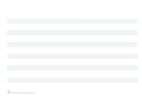 printable manuscript paper landscape blank music sheets for piano carbon materialwitness co
