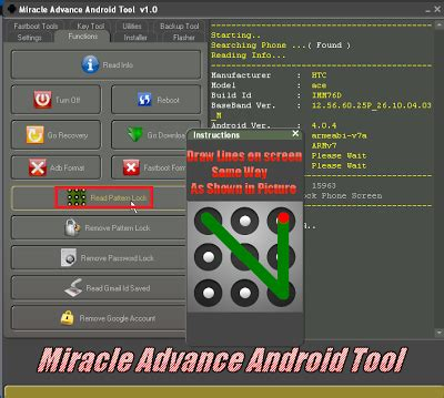 android pattern remover software mobile software world miracle box great success android