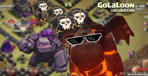 Golaloon Attack Strategy Clash Of Clans Land | golaloon attack strategy clash of clans land