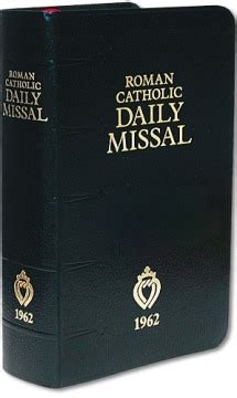 the roman missal 1962 english and latin edition roman roman catholic daily latin enlish missal 1962 edition
