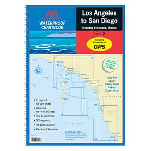 maptech waterproof chartbook los angeles to san diego