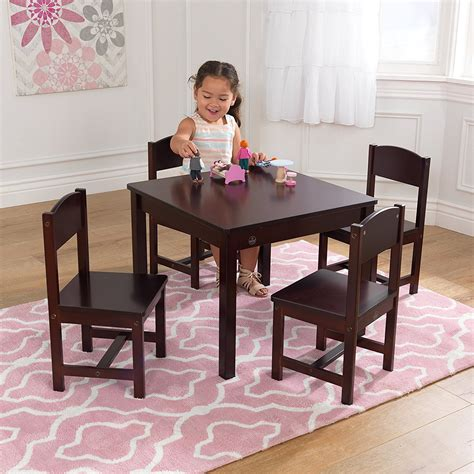 kidkraft farmhouse table and chairs kidkraft farmhouse table and chair set 66 15 reg 127 99