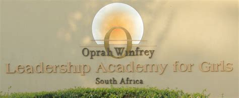 Oprah Gets Complaints About Like School by Oprah Winfrey Leadership Academy For