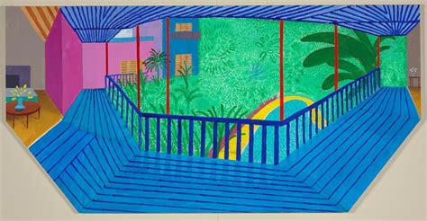 Home Design Photos Interior by David Hockney S Life In Painting Spare Exuberant Full