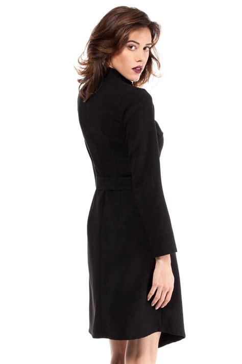 Black Wrap Around by Black Wrap Around Asymmetrical Dress
