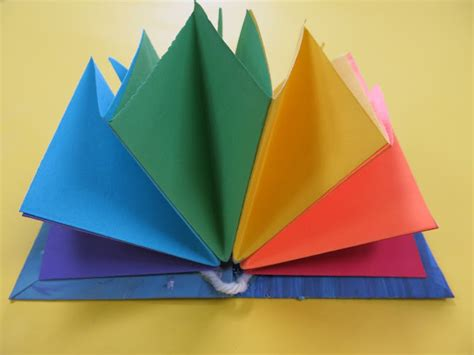 How To Make A Book Out Of Construction Paper - stephens in the room a rainbow book