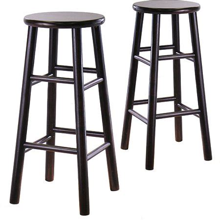 30 Inch Bar Stools Walmart by Winsome Wood 30 Inch Bar Stool Espresso Set Of 2