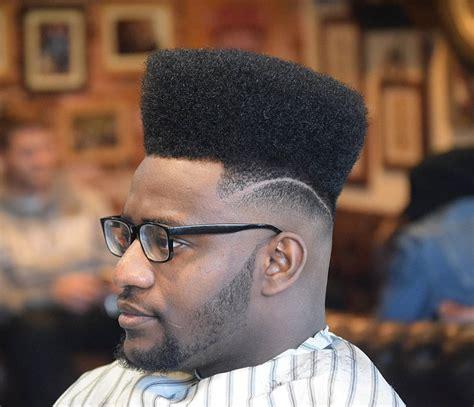 high top fade haircut black men astymiscial line with high top fade haircuts for black men