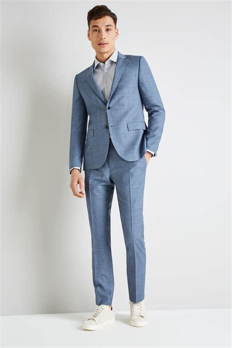 light blue slim fit dkny slim fit light blue openweave jacket