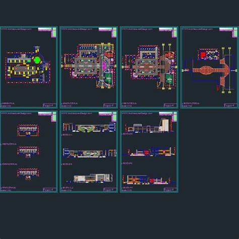 autocad layout design center shopping malls architecture design autocad drawings