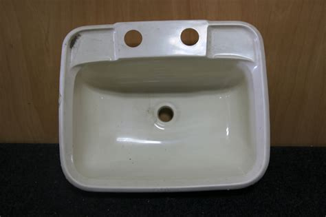 Rv Accessories Small Rv Bathroom White Plastic Sink Size