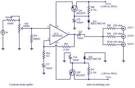resistor divider audio breadboard voltage divider schematic voltage divider bias circuit elsavadorla