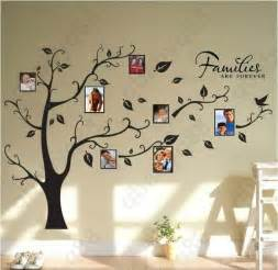 family tree wall art stickers family picture photo frame tree wall quote art stickers