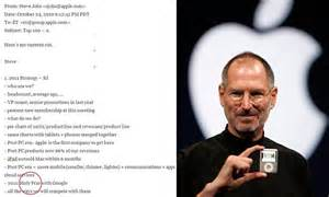 steve jobs death bed steve jobs wanted to launch a holy war on google daily