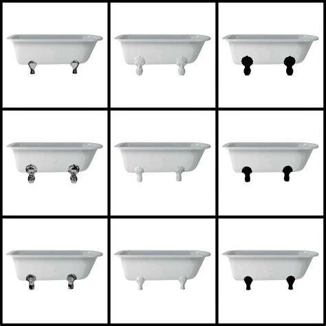 Burlington nostalgisch klassieke baden op pootjes in retrostijl bad exclusief