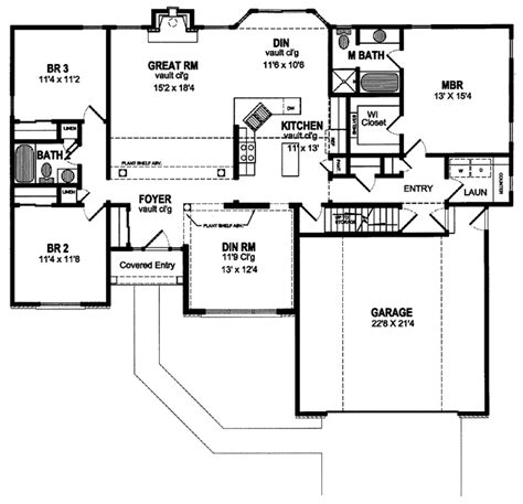 classic american homes floor plans traditional style house plan 3 beds 2 baths 1802 sq ft