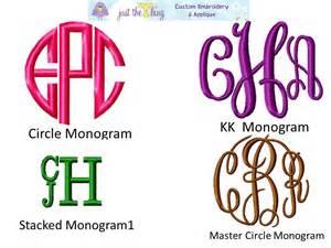 Monogram Ideas Gallery For Gt Monogram Clothing Ideas