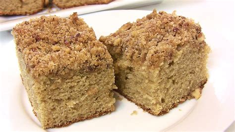 """Back to School"" Old Fashioned Coffee Cake Recipe  Back to School recipe  Cooking With Carolyn"