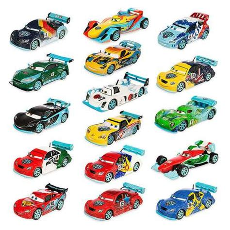 Diecast Mobil Tomica Cars Carbon Race Raoul Saroule disney cars 143 deluxe sets ultimate racing exclusive 143 diecast car set toywiz