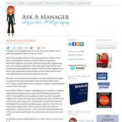Ask A Manager Cover Letter Before And After cover letter resume writing pearltrees