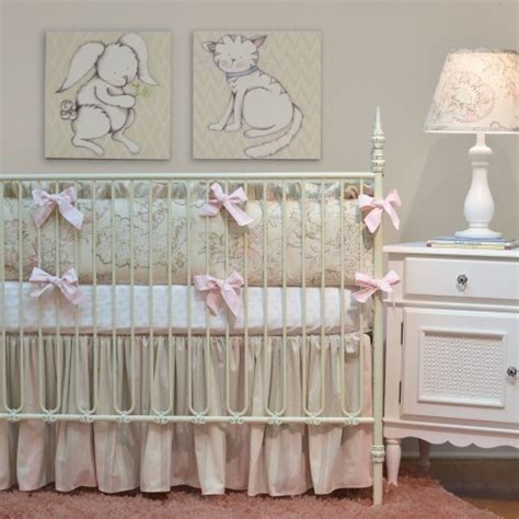 elegant baby bedding an elegant baby girls nursery traditional san diego