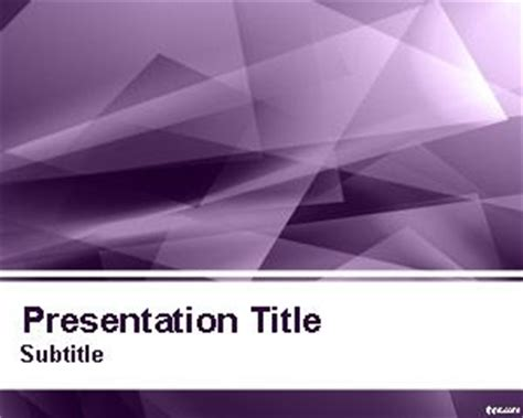 Abstract Powerpoint Templates Powerpoint Templates Free Violet