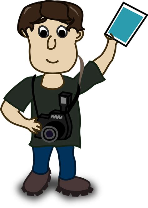 Free vector graphic: Boy, Camera, Character, Human   Free Image on Pixabay   160722