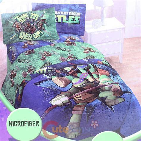 ninja turtle twin bedding set teenage mutant ninja turtles 4pc twin bedding comforter