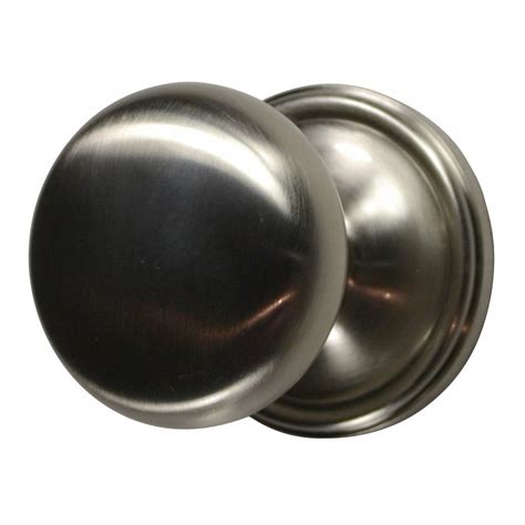 Brushed Door Knobs by Traditional Brass Door Knob Brushed Nickel Finish
