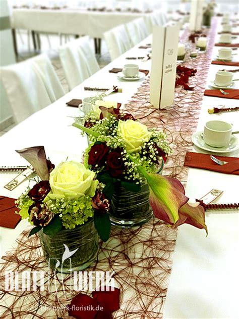 Floristik Hochzeit Tischdekoration by Hochzeit Tischdekoration Beispiele Galerie