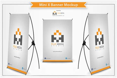 design banner mockup retractable banner mockup psd 187 designtube creative