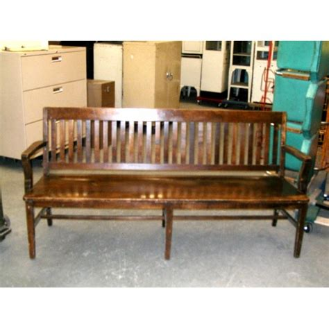 courtroom benches courtroom bench walnut 6