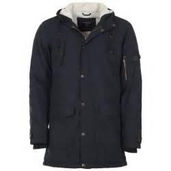Jacket For Mens Navy Parka Jacket