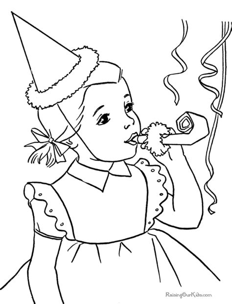 dltk birthday coloring pages birthday party coloring pages dltk kidscom auto design tech