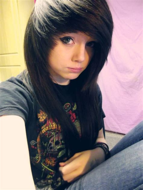emo hairstyles brown hair 632 best images about emo hairstyles on pinterest scene