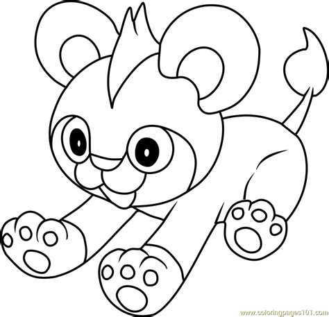 litleo pokemon coloring page free pok 233 mon coloring pages