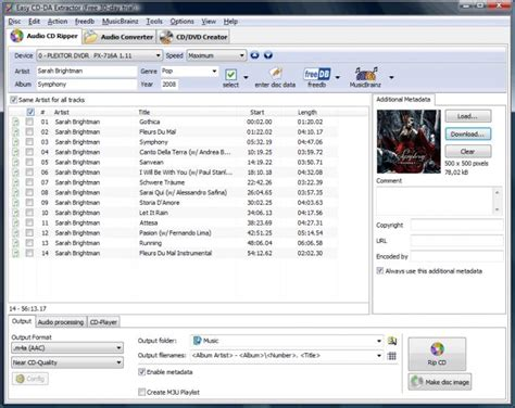format extraction cd easy cd da extractor download