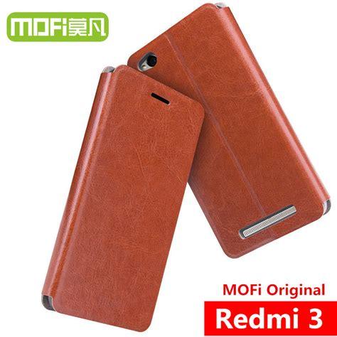 Leather Xiaomi Redmi 3 Pro 3s Back Cover Premium Casing Ku 8 xiaomi redmi 3s mofi leather xiomi redmi 3s pro