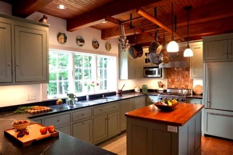 Catskill Kitchen Island post and beam kitchens with floor plans that work yankee