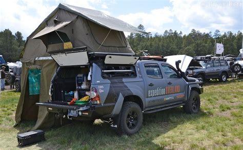 overland jeep setup vehicles of overland expo 2013 toyota exploring elements