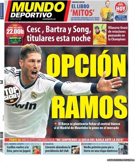 mundodeportivo mundo deportivo el diario deportivo online quiosco del 6 de abril de 2013 libertad digital