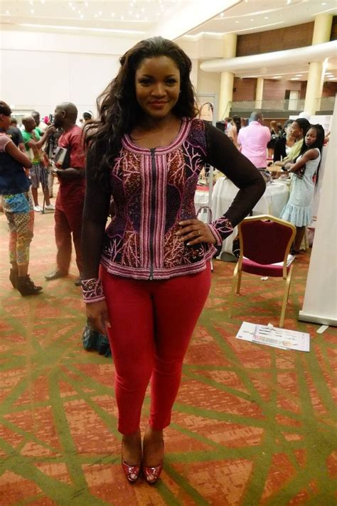 Omotla Nigerian Styles With Lace Dresses   13 best images about omotola jalade ankara dresses on