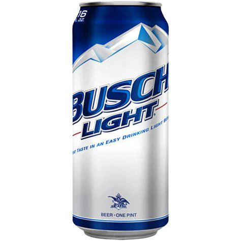 busch light new can busch light beer 16 fl oz walmart com